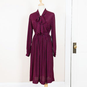 Jack Mulqueen Silksational Vintage Skirt Set